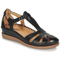 kengät Naiset Balleriinat Pikolinos CADAQUES W8K Black