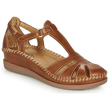 kengät Naiset Balleriinat Pikolinos CADAQUES W8K Camel