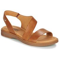 kengät Naiset Sandaalit ja avokkaat Pikolinos MORAIRA W4E Camel