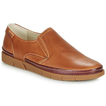 kengät Miehet Mokkasiinit Pikolinos PALAMOS M0R Camel
