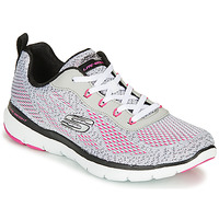 kengät Naiset Fitness / Training Skechers FLEX APPEAL 3.0 Grey / Pink
