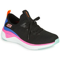 kengät Naiset Fitness / Training Skechers SOLAR FUSE Black / Pink / Blue