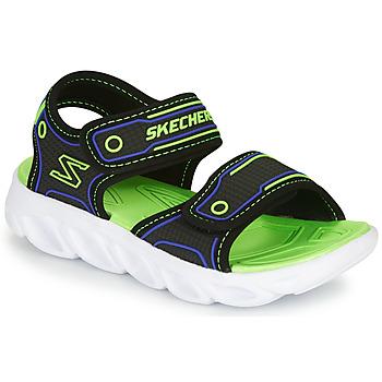 kengät Pojat Urheilusandaalit Skechers HYPNO-SPLASH Blue / Green