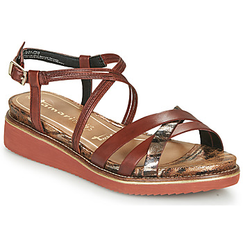 kengät Naiset Sandaalit ja avokkaat Tamaris EDA Brown