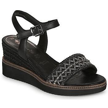 kengät Naiset Sandaalit ja avokkaat Tamaris ALIS Black