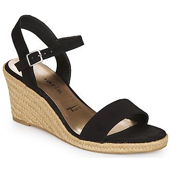 kengät Naiset Sandaalit ja avokkaat Tamaris  Black