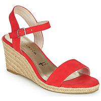 kengät Naiset Sandaalit ja avokkaat Tamaris LIVIA Red