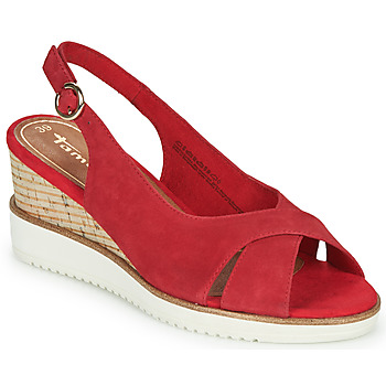 kengät Naiset Sandaalit ja avokkaat Tamaris ALIS Red