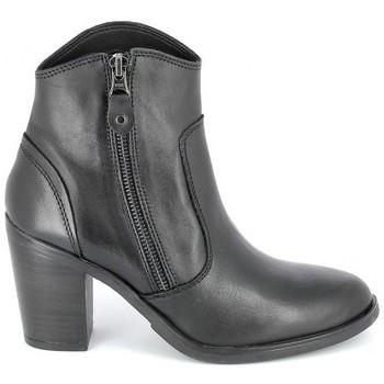 kengät Naiset Nilkkurit Porronet Boots Acap Noir Musta