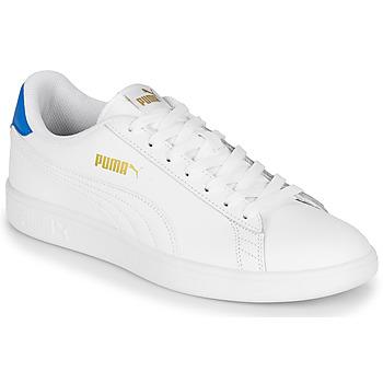 kengät Miehet Matalavartiset tennarit Puma PUMA SMASH V2 L White