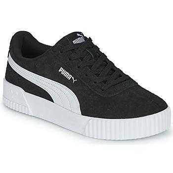 kengät Naiset Matalavartiset tennarit Puma CARINA Black