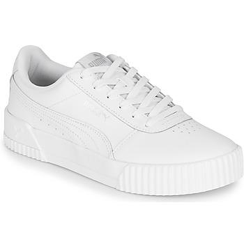 kengät Naiset Matalavartiset tennarit Puma CARINA Valkoinen