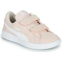 kengät Lapset Matalavartiset tennarit Puma Puma Smash v2 SD V PS Pink