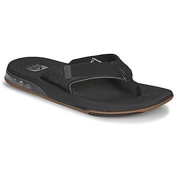 kengät Miehet Varvassandaalit Reef FANNING LOW Musta