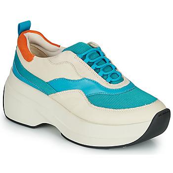 kengät Naiset Matalavartiset tennarit Vagabond SPRINT 2.0 Beige / Blue