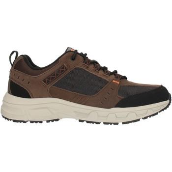 kengät Miehet Matalavartiset tennarit Skechers 51893 Brown