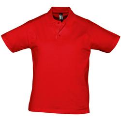 vaatteet Miehet Lyhythihainen poolopaita Sols PRESCOTT CASUAL DAY Rojo