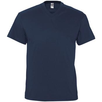 vaatteet Miehet Lyhythihainen t-paita Sols VICTORY COLORS Azul