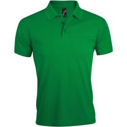 vaatteet Miehet Lyhythihainen poolopaita Sols PRIME ELEGANT MEN Verde