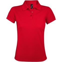 vaatteet Naiset Lyhythihainen poolopaita Sols PRIME ELEGANT WOMEN Rojo