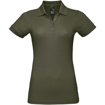 vaatteet Naiset Lyhythihainen poolopaita Sols PRIME ELEGANT WOMEN Verde