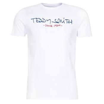 vaatteet Miehet Lyhythihainen t-paita Teddy Smith TICLASS Valkoinen