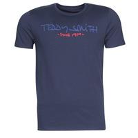 vaatteet Miehet Lyhythihainen t-paita Teddy Smith TICLASS Laivastonsininen