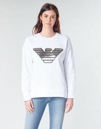 vaatteet Naiset Svetari Emporio Armani DJIMMY Valkoinen