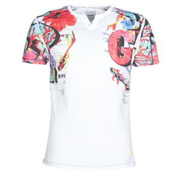 vaatteet Miehet Lyhythihainen t-paita Desigual LIAN Multicolour