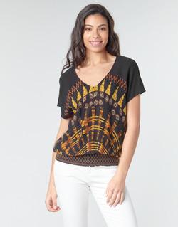 vaatteet Naiset Topit / Puserot Desigual NAPOLES Multicolour