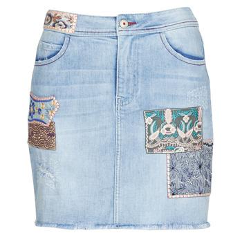 vaatteet Naiset Hame Desigual PATTY Blue