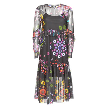 vaatteet Naiset Pitkä mekko Desigual PORTLAND Multicolour
