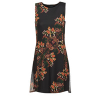vaatteet Naiset Lyhyt mekko Desigual PAPILLON Multicolour