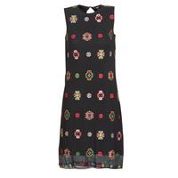 vaatteet Naiset Lyhyt mekko Desigual TRESOR Multicolour