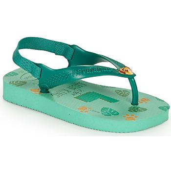 kengät Lapset Varvassandaalit Havaianas BABY DISNEY CLASSICS II Vihreä
