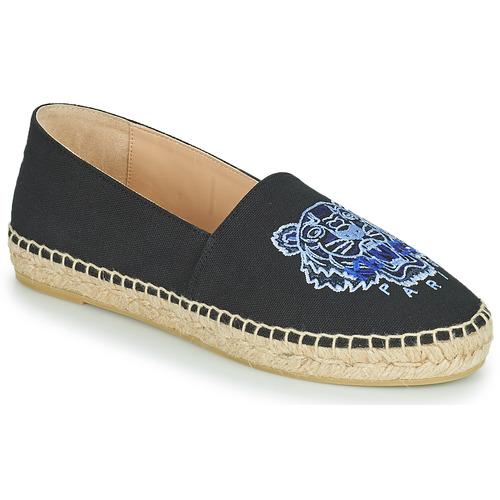 kengät Naiset Espadrillot Kenzo ESPADRILLE CLASSIC TIGER Black