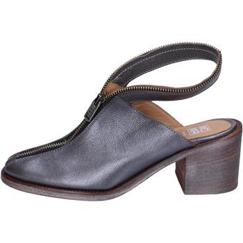 kengät Naiset Puukengät Moma stivaletti pelle Grigio