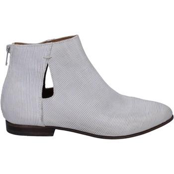 kengät Naiset Nilkkurit Moma Nilkkasaappaat BR921 Valkoinen