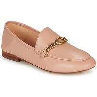 kengät Naiset Mokkasiinit Coach HELENA LOAFER Pink / Nude