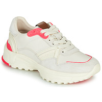 kengät Naiset Matalavartiset tennarit Coach C143 RUNNER White / Pink