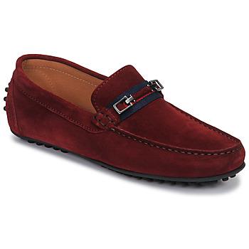 kengät Miehet Mokkasiinit Brett & Sons FARICE Brown / Laivastonsininen