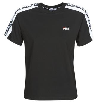 vaatteet Naiset Lyhythihainen t-paita Fila TANDY Black