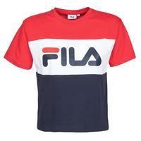 vaatteet Naiset Lyhythihainen t-paita Fila ALLISON Laivastonsininen / Red / White