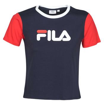 vaatteet Naiset Lyhythihainen t-paita Fila SALOME Laivastonsininen / Red