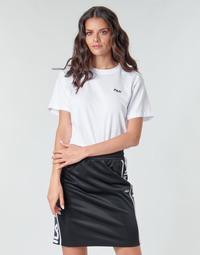 vaatteet Naiset Lyhythihainen t-paita Fila EARA Valkoinen