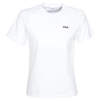 vaatteet Naiset Lyhythihainen t-paita Fila EARA White