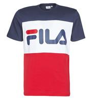 vaatteet Miehet Lyhythihainen t-paita Fila DAY Laivastonsininen / Punainen / Valkoinen