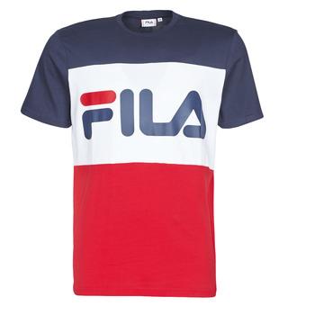 vaatteet Miehet Lyhythihainen t-paita Fila DAY Laivastonsininen / Red / White