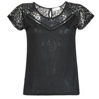 vaatteet Naiset Lyhythihainen t-paita Deeluxe CLEA Black