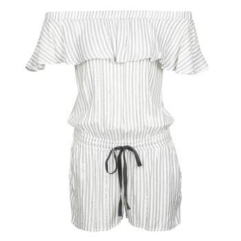 vaatteet Naiset Jumpsuits / Haalarit Deeluxe FAYME White / Blue